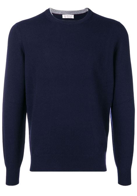 Blue jumper BRUNELLO CUCINELLI | M2200100CW425