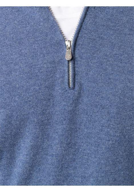 Maglione blu BRUNELLO CUCINELLI | MAGLIONE | M2200124CA709