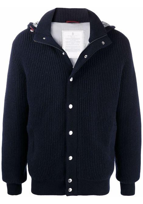 Blue jacket BRUNELLO CUCINELLI | M225P116CG750