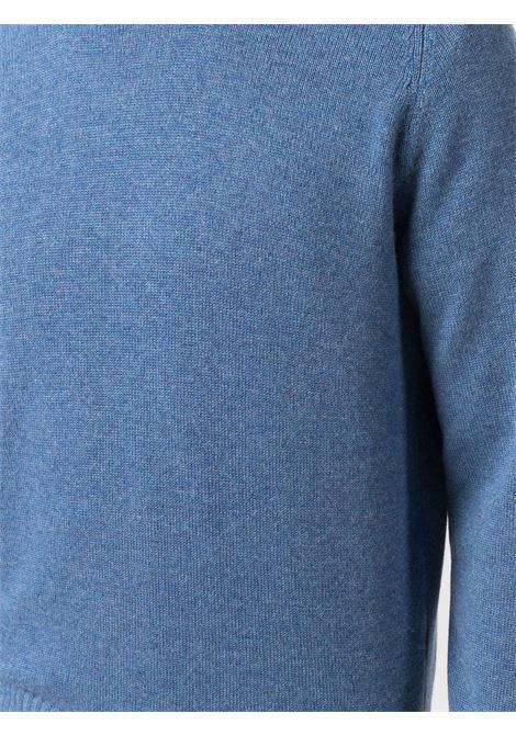 Maglione blu BRUNELLO CUCINELLI | MAGLIONE | M2279400CM644