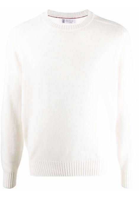 White jumper BRUNELLO CUCINELLI | M2279400CO312