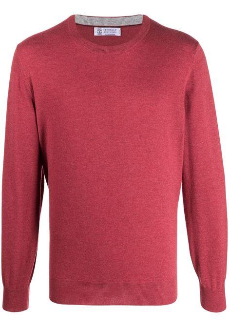 Maglione rosso BRUNELLO CUCINELLI | MAGLIONE | M2Q00100CD552
