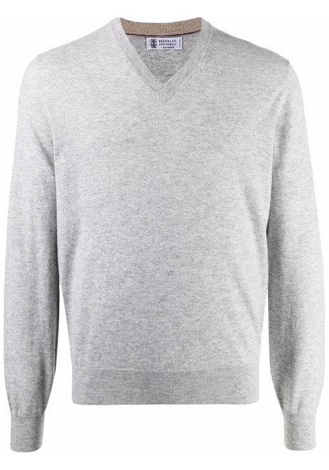 Grey jumper BRUNELLO CUCINELLI | M2Q00162CK773