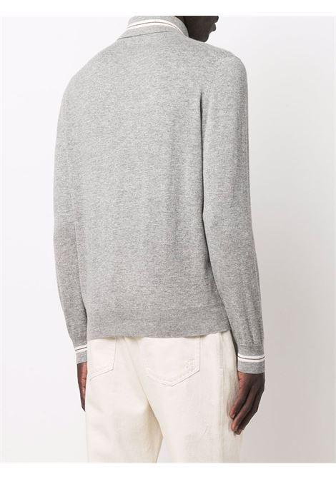 Grey Polo shirt BRUNELLO CUCINELLI | M2Q803305CJ903