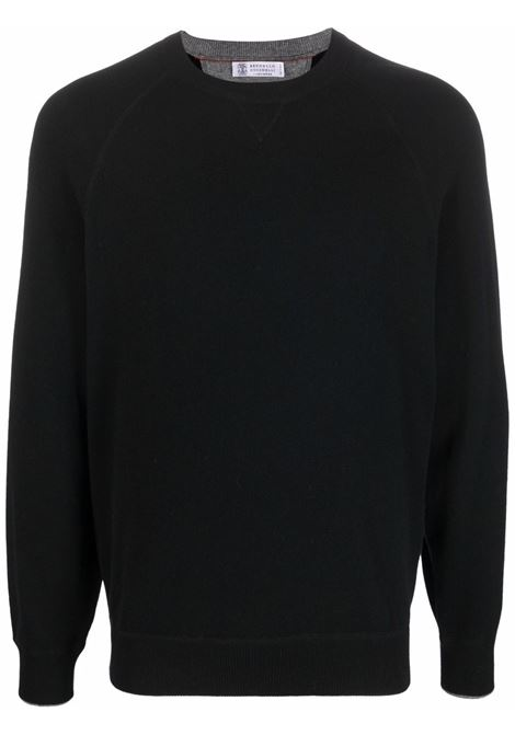 Black sweatshirt BRUNELLO CUCINELLI | M3609218CH101