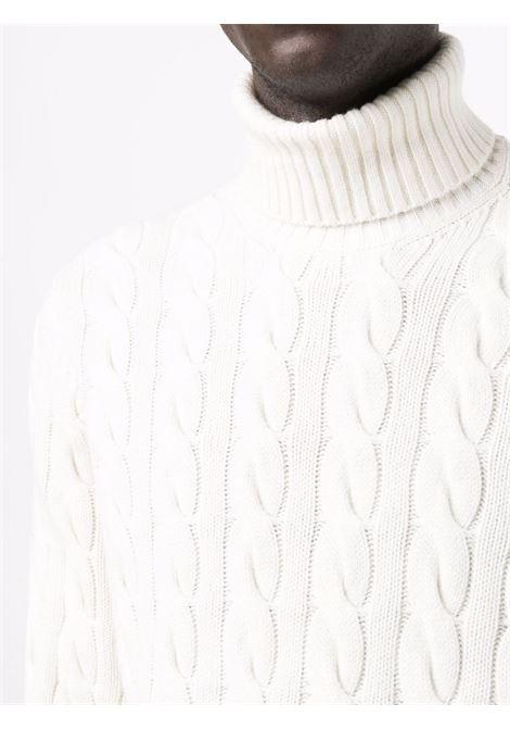 Maglione bianco BRUNELLO CUCINELLI | MAGLIONE | M36501903CS120