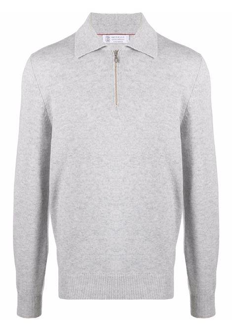Grey jumper BRUNELLO CUCINELLI | M36703805CK773