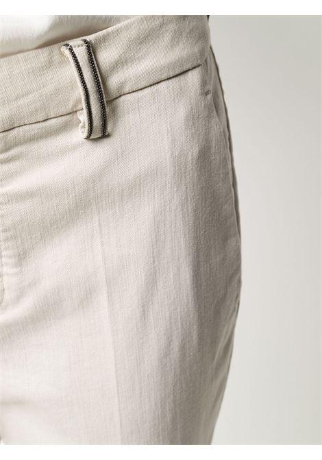 Pantalone crema BRUNELLO CUCINELLI | PANTALONI | MA080P5398C9443