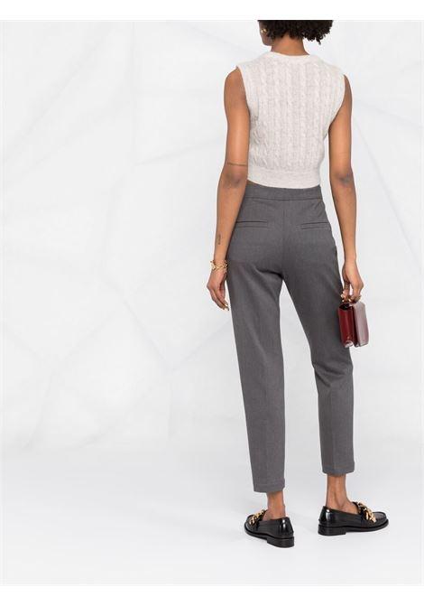 Pantalone grigio BRUNELLO CUCINELLI | PANTALONI | MA126P7227C004