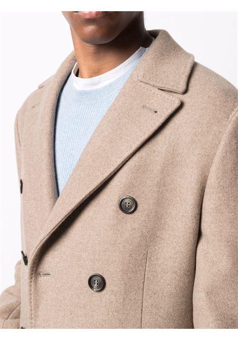 Brown coat BRUNELLO CUCINELLI | MQ4219003C900