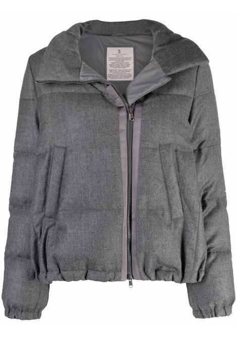 Piumino grigio BRUNELLO CUCINELLI | PIUMINI | MT5972860C001