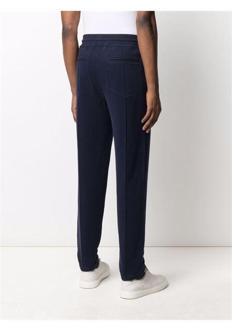 Pantalone blu BRUNELLO CUCINELLI | PANTALONI | MTU143212GC6134