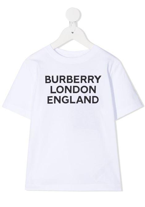 T-shirt bianca BURBERRY KIDS | 8028811A1464