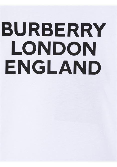 T-shirt bianca BURBERRY KIDS | T-SHIRT | 8028811A1464