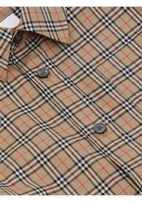 Camicia beige BURBERRY KIDS | CAMICIE | 8042957A7028