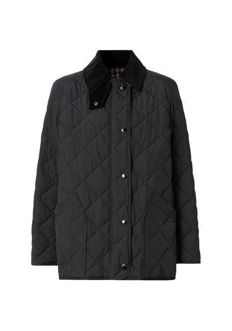 Black padded jacket BURBERRY | 8021751A1189