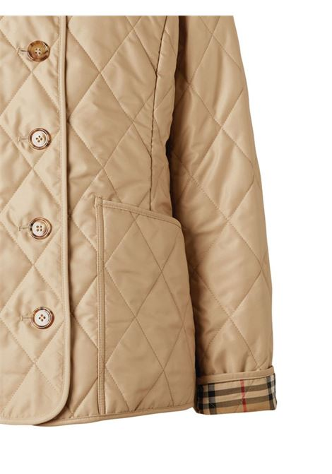 Beige padded jacket BURBERRY | 8023321A4170
