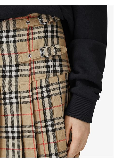 Gonna beige BURBERRY | GONNE | 8025832A7028