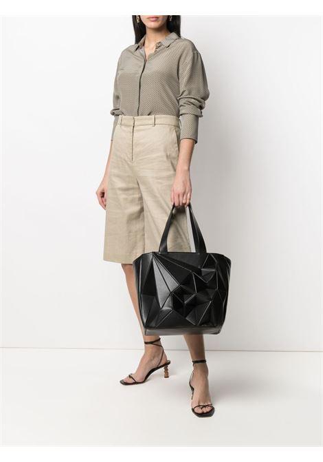 Hand bag CALICANTO | CL106SMOOTHLEATHERBLA