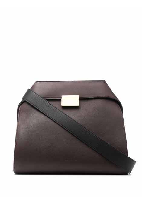 Hand bag CALICANTO | CL704GRAINEDLEATHERDBR