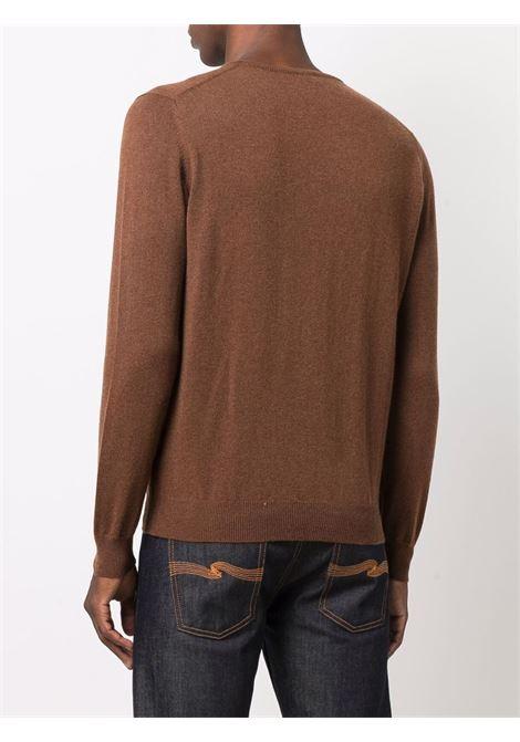 Brown jumper CENERE MAGLIE | FU01101496A