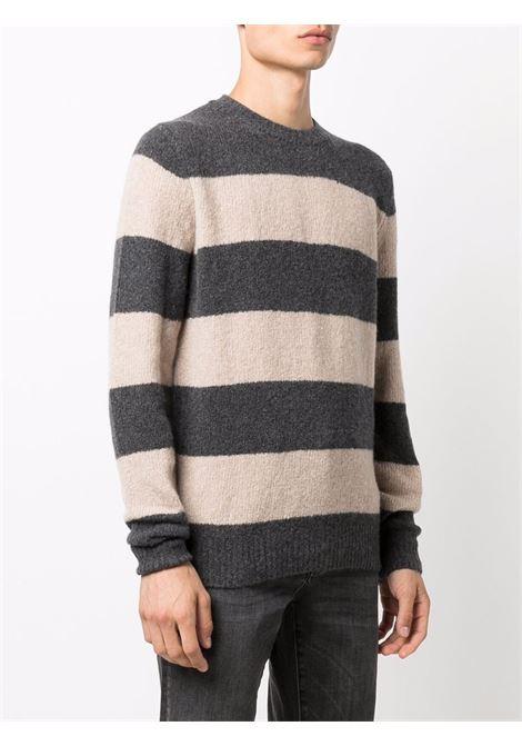 Grey/beige jumper CENERE MAGLIE | FU31530101