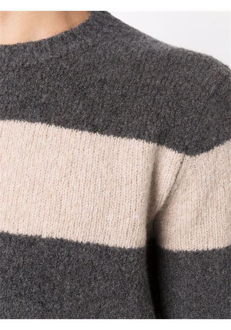 Grey/beige jumper CENERE MAGLIE | JERSEYS | FU31530101