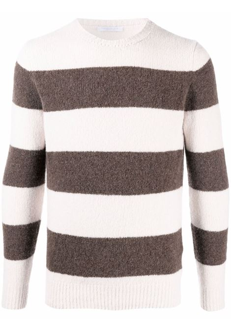 Beige/brown jumper CENERE MAGLIE | FU31530104