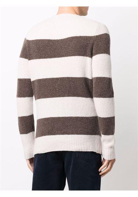 Beige/brown jumper CENERE MAGLIE | JERSEYS | FU31530104