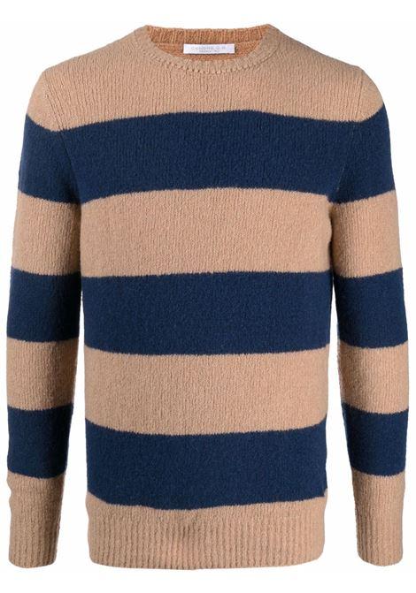 Beige/blue jumper CENERE MAGLIE | FU31530108