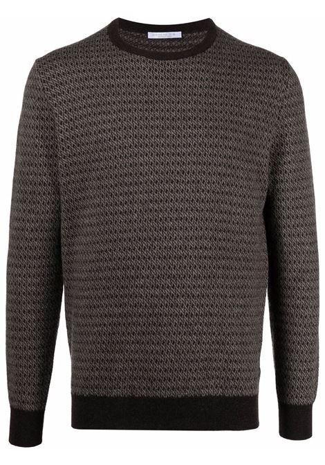 Brown jumper CENERE MAGLIE | FU60150809