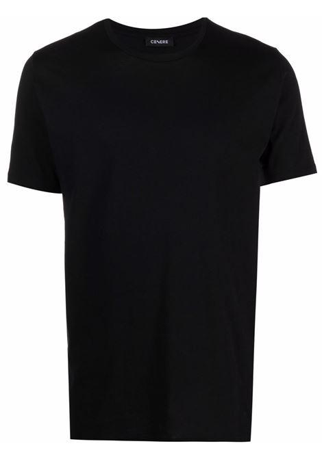 Black t-shirt  CENERE MAGLIERIA | 321J2101000016