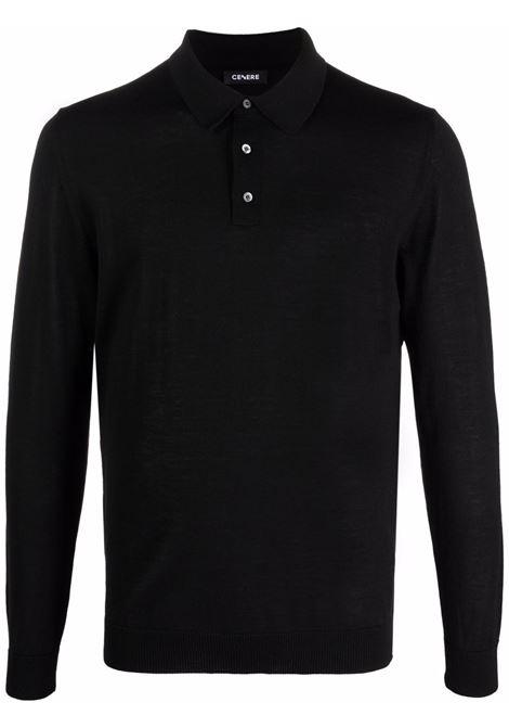 Black Polo shirt CENERE MAGLIERIA | 321M0005000016