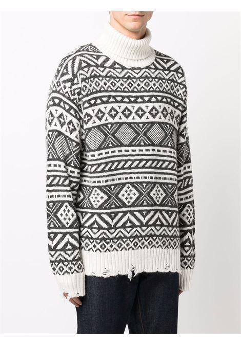Black/white jumper CENERE MAGLIERIA | 621G3001000072