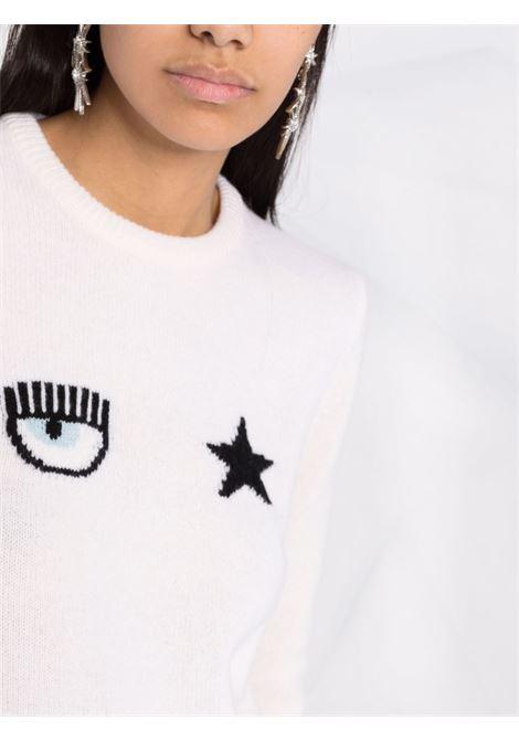 Maglione bianco CHIARA FERRAGNI | MAGLIONE | 71CBFM01CMM0071M25008