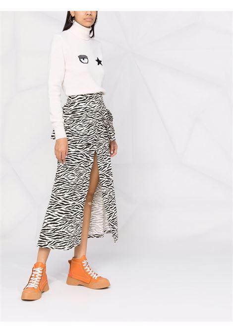 Maglione bianco CHIARA FERRAGNI | MAGLIONE | 71CBFM02CMM0071M35008