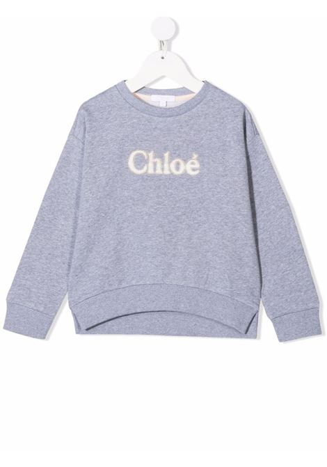 Felpa grigia CHLOE KIDS | C15D10A38