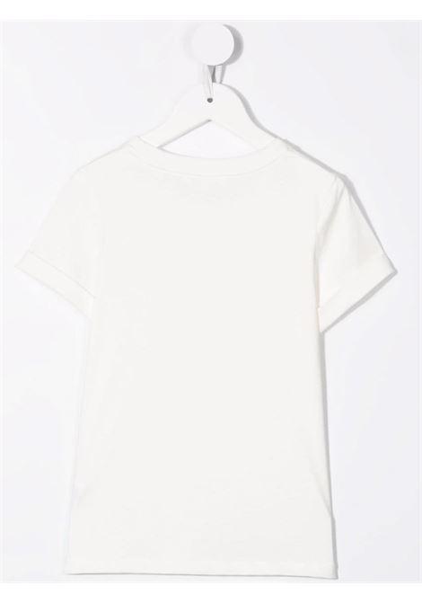 T-shirt bianco/rosa CHLOE KIDS | C15D2245F