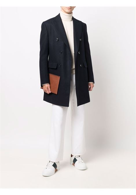 Cappotto blu CORNELIANI | 8814191812104002