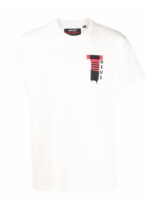 White t-shirt DEUS | DMF201666AVWH