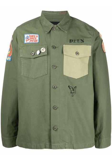 Green shirt DEUS | DMP2051125CLV