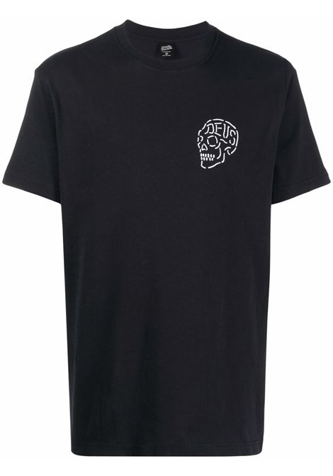 Black t-shirt DEUS | TDMH31645CBLK