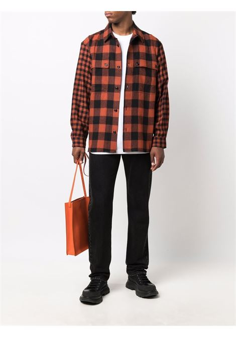 Orange/black shirt DIESEL | A030110SDAD42S