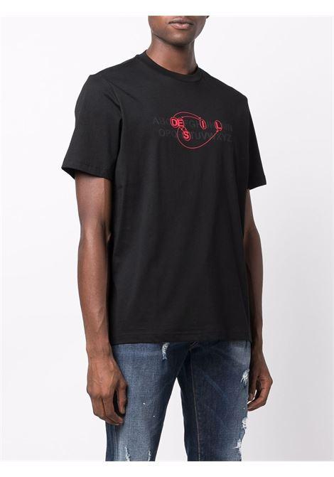 T-shirt nera DIESEL | A032930HAYU9XX