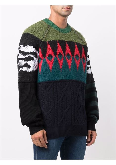 Multicolour jumper DIESEL | SWEATER | A034260DFAJ51F