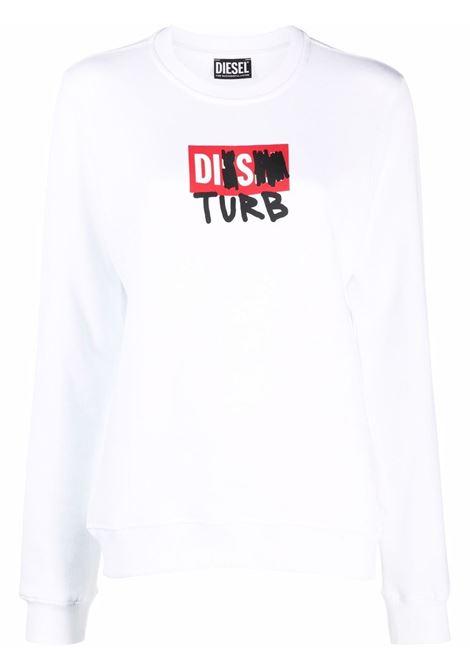 White sweatshirt DIESEL | A048050DEAK100