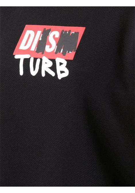 Black sweatshirt DIESEL | A048050DEAK9XX