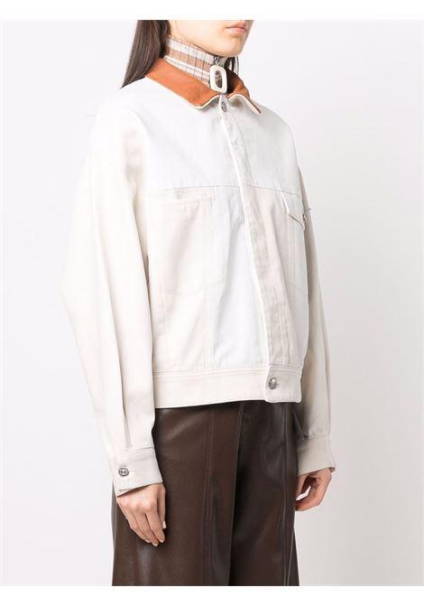 White/brown jacket DIESEL | A048350BFAV0T101