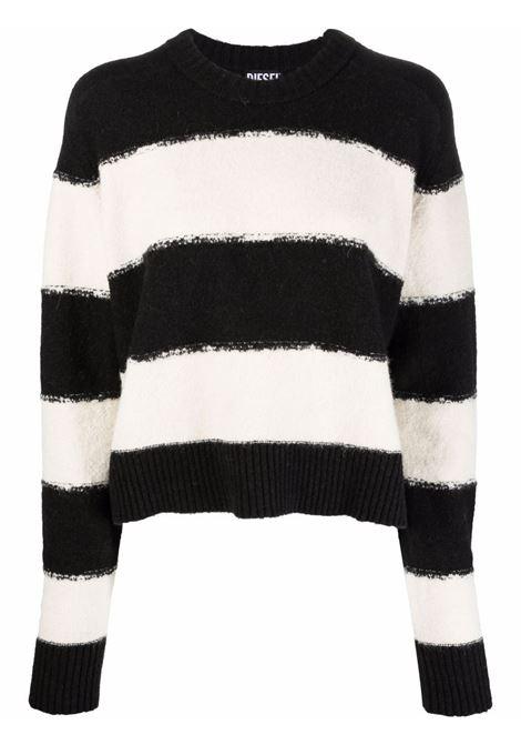 Black/white jumper DIESEL | A048800PBAE9XX