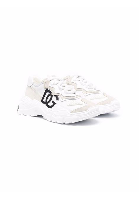 Sneakers bianca DOLCE & GABBANA KIDS | D11053AQ04080001